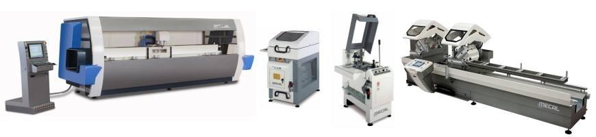 Μηχανήματα αλουμινίου